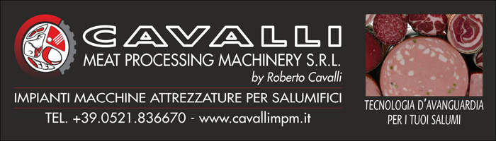 CAVALLI MEAT PROCESSING MACHINERY SRL